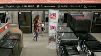 The Home Depot Labor Day Savings TV Spot, 'Upgrade Your Appliances: LG' - Thumbnail 4