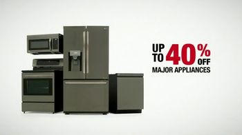 The Home Depot Labor Day Savings TV Spot, 'Upgrade Your Appliances: LG' - Thumbnail 8