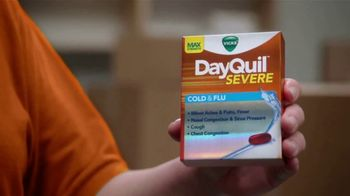 Vicks DayQuil Severe TV Spot, 'Crush the Day'