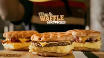 Burger King Maple Waffle Sandwiches TV Spot, 'Smell' - Thumbnail 9