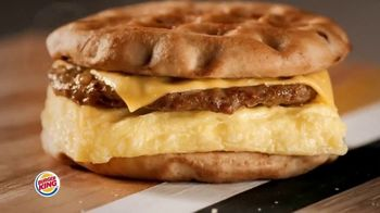 Burger King Maple Waffle Sandwiches TV Spot, 'Smell'