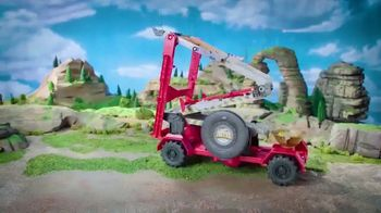 Hot Wheels Monster Trucks Downhill Race & Go Playset TV Spot, 'Take out the Competition' - Thumbnail 9