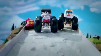 Hot Wheels Monster Trucks Downhill Race & Go Playset TV Spot, 'Take out the Competition' - Thumbnail 5