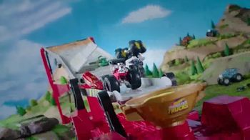 Hot Wheels Monster Trucks Downhill Race & Go Playset TV Spot, 'Take out the Competition' - Thumbnail 6