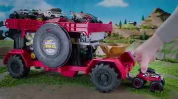 Hot Wheels Monster Trucks Downhill Race & Go Playset TV Spot, 'Take out the Competition'