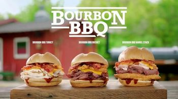 Arby's Bourbon BBQ TV Spot, 'Use One Word'
