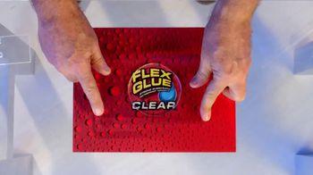 Flex Glue Clear TV Spot, 'Rubberized Glue: Glass Boat'