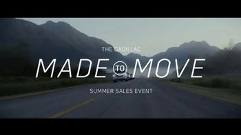 Cadillac Made to Move Sales Event TV Spot, 'Made for Summer' Song by French 79 [T2] - Thumbnail 1
