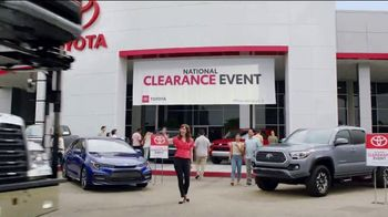 Toyota National Clearance Event TV Spot, 'Duet' [T2]