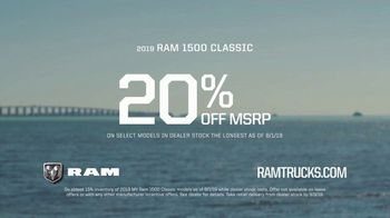 2019 Ram 1500 TV Spot, 'On To Bigger Things: Safety First' Song by Vitamin String Quartet [T2] - Thumbnail 9