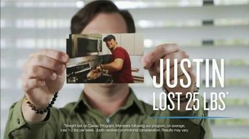 Jenny Craig Rapid Results TV Spot, 'Justin: Lost 25 Pounds' - Thumbnail 3