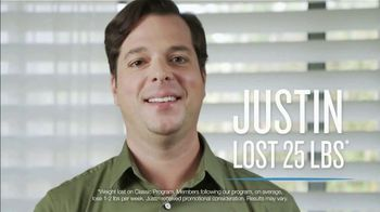 Jenny Craig Rapid Results TV Spot, 'Justin: Lost 25 Pounds'