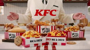 KFC $5 Fill Ups TV Spot, 'Mac & Cheeeeeeeeeeese Bowl' - Thumbnail 9