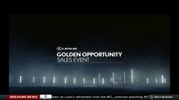 Lexus Golden Opportunity Sales Event TV Spot, 'Performance' [T1] - Thumbnail 1