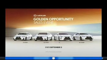 Lexus Golden Opportunity Sales Event TV Spot, 'Performance' [T1] - Thumbnail 8