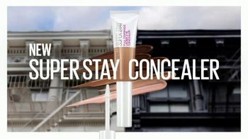 Maybelline New York Super Stay Concealer TV Spot, 'Up All Night' - Thumbnail 3