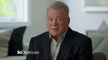 SoClean TV Spot, 'Healthy Sleep Every Night: $100 Off' Featuring William Shatner - Thumbnail 1
