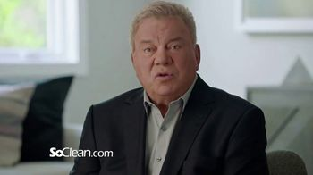 SoClean TV Spot, 'Healthy Sleep Every Night: $100 Off' Featuring William Shatner - Thumbnail 3