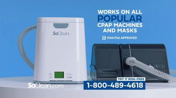 SoClean TV Spot, 'Healthy Sleep Every Night: $100 Off' Featuring William Shatner - Thumbnail 6