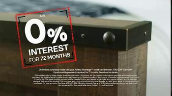 Ashley HomeStore Black Friday in July TV Spot, 'Breaking All the Rules: No Interest' - Thumbnail 5
