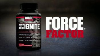 Force Factor Test X180 Ignite TV Spot, 'American'