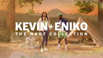Fabletics.com TV Spot, 'The Hart Collection: Nature' Featuring Kevin Hart, Eniko Hart