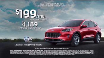 2022 Ford Escape TV Spot, 'Built For You by You: Escape' [T2] - Thumbnail 6