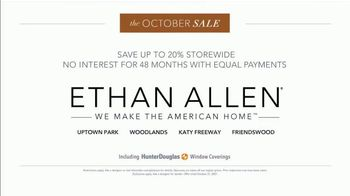Ethan Allen October Sale TV Spot, 'Exceptional Quality: 20% Storewide' - Thumbnail 6