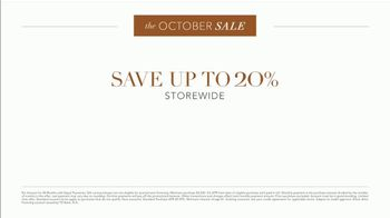Ethan Allen October Sale TV Spot, 'Exceptional Quality: 20% Storewide' - Thumbnail 3