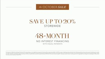 Ethan Allen October Sale TV Spot, 'Exceptional Quality: 20% Storewide' - Thumbnail 4