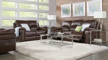 Rooms to Go Fall Sale TV Spot, 'Five-Piece Leather Living Room Set' - Thumbnail 3