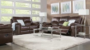 Rooms to Go Fall Sale TV Spot, 'Five-Piece Leather Living Room Set' - Thumbnail 4