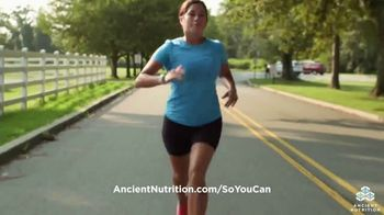 Ancient Nutrition TV Spot, 'Going Further' - Thumbnail 9