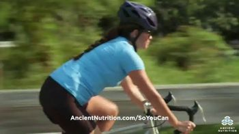Ancient Nutrition TV Spot, 'Going Further' - Thumbnail 5