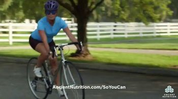 Ancient Nutrition TV Spot, 'Going Further' - Thumbnail 6