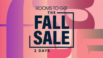 Rooms to Go Fall Sale TV Spot, '2 Days Remain' - Thumbnail 2