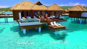 Sandals Resorts TV Spot, 'Earn Our Stars: Book With Confidence'