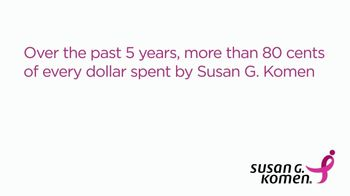 Susan G. Komen for the Cure TV Spot, 'More Than 80 Cents'