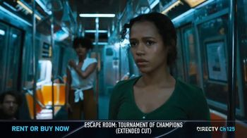 DIRECTV Cinema TV Spot, 'Escape Room: Tournament of Champions Extended Cut'