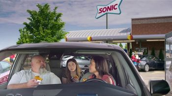Sonic Drive-In Grilled Cheese Double Burger TV Spot, 'Debate: What Came First?' - Thumbnail 1