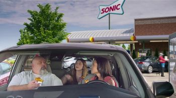 Sonic Drive-In Grilled Cheese Double Burger TV Spot, 'Debate: What Came First?' - Thumbnail 2