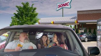 Sonic Drive-In Grilled Cheese Double Burger TV Spot, 'Debate: What Came First?' - Thumbnail 6