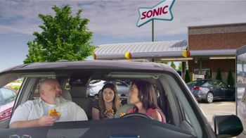 Sonic Drive-In Grilled Cheese Double Burger TV Spot, 'Debate: What Came First?' - Thumbnail 7