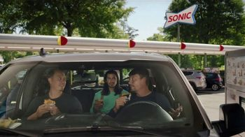 Sonic Drive-In Grilled Cheese Double Burger TV Spot, 'The Best Part of Being a Dad'