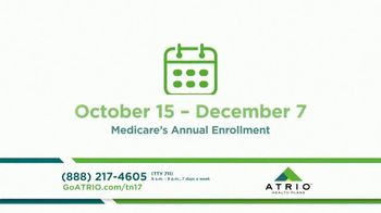 ATRIO Health Plans TV Spot, 'Bigger Better Benefits' - Thumbnail 2