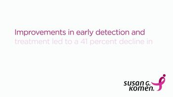 Susan G. Komen for the Cure TV Spot, 'Early Detection'