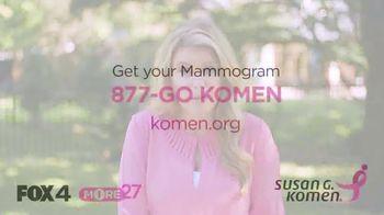 Susan G. Komen for the Cure TV Spot, 'FOX 4: Tens and Thousands of Women' - Thumbnail 10