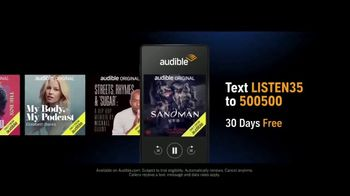 Audible Inc. TV Spot, 'Actual Listeners: Hooked Really Fast' - Thumbnail 3