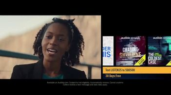 Audible Inc. TV Spot, 'Actual Listeners: Hooked Really Fast' - Thumbnail 4