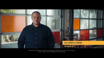Audible Inc. TV Spot, 'Actual Listeners: Hooked Really Fast' - Thumbnail 5